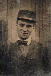 Tintype: Abner Chauncey Adams (1880-1966)