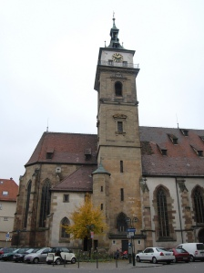Evangelical Stadtkirche, Bad Cannstatt, built in 1506