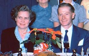 Helyn Riis Lefgren and Arthur Lefgren, 1954