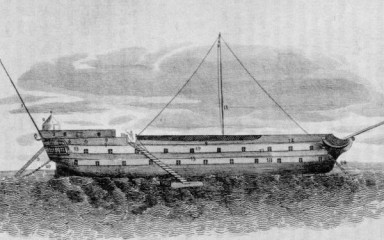 British prison ship H.M.S. Jersey