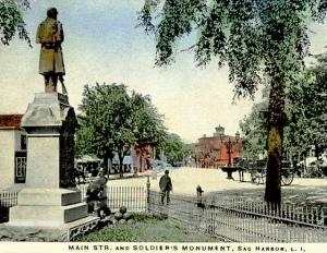 Main Street, Sag Harbor, c1900