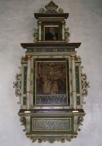 Epitaph for Wilhelm Gmelin in St. Veit Kitche
