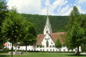 The Monastery at Blaubeuren